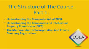 How To Register A Company How To Register A Company In South Africa 2016 Course Overview Break Down
