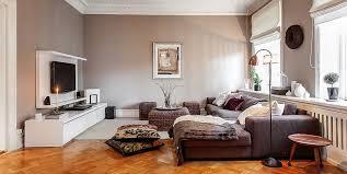 Charming Swedish House Interior Style Family Room
