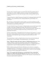 Performance Evaluation Form Appraisal Sample Self Example Yakult Co