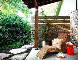 patio privacy ideas enchanting apartment patio privacy ideas apt back screens backyard divider brown plaid leisure patio privacy ideas