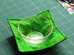 Microwave Bowl Holder Pattern Custom The Quilting Kitty Microwave Bowl Holder Tutorial Microwave Bowl