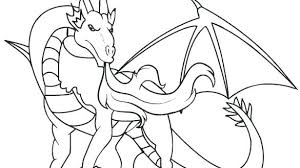 Dragon Coloring Pages For Kids Homelandsecuritynews