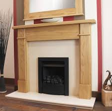 henley solid oak fireplace surround