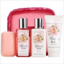image is loading crabtree evelyn evelyn rose 5pcs gift set new