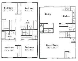 3 bedroom 2 bath house plans. 3 Bedroom 2 Bath Floor Plans New X House Inspirational O