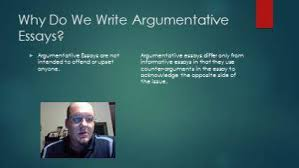 officemix creating an argumentative essay slide 3 why do we write argumentative essays