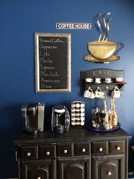 office coffee station. View In Gallery Coffee Station With Dark Colors And Chalkboard Office I
