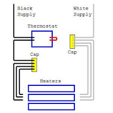 replacing thermostat for electric baseboard heaters what do i Double Pole Thermostat Wiring Diagram i guess the thing that has me most concerned is that i did try to install a simple non programmable 4 pole t stat it was a honeywell model ct410b wiring diagram for double pole thermostat