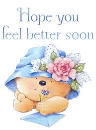 Bildergebnis für feel better soon gif