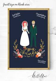 Sign Book For Wedding The Best Etsy Wedding Guest Books Junebug Weddings