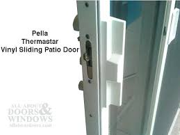 pella patio door handle kit thermastar vinyl sliding door white sliding patio door locks home hardware sliding patio door locks mushroom sliding patio door