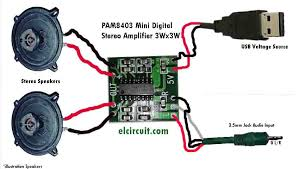 wiring diagram mini digital power amplifier audio schematic mini digital stereo power amplifier usb voltage