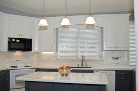 gray and white kitchen with verona doors 2