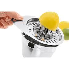 aneuware  rÖsle lemon press made of stainless steel  alles für