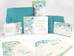 wedding appointments, invitations & info in denver, co scribbles Wedding Invitation Blue And Green jasmine & woo digital photo cards and paper wedding invitation blue green motif