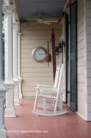hang an outdoor thermometer clock