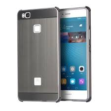 huawei p9 grey. metal frame bumper case for huawei p9 lite (grey) - intl grey
