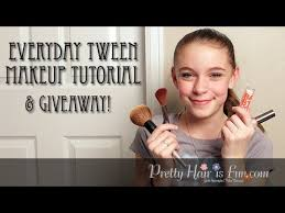 everyday tween makeup tutorial