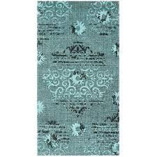 palazzo black cream light blue area rug and plaid