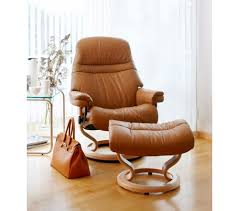 Stressless Sunrise Classic Recliner & Ottoman from $2 195 00 by