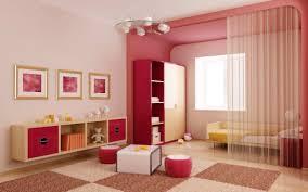 Interior:Simple Room Interior Designs With Good Lighting And White Furniture  Idea Elegant Childrens .