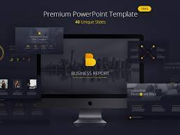 Free Business Templates For Powerpoint Free Business Report Powerpoint Template Vol 1 By Hislide Io