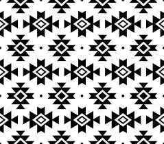 Navajo Pattern Magnificent Tribal Pattern Aztec Seamless Background Navajo Vector Design