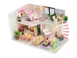 <b>Сборная модель DIY House</b> MiniHouse Розовый лофт M035, код ...
