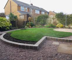 Small Picture Small Circular Garden Design in Macclesfield Cheshire