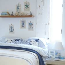 beach design bedroom. Blue And White Beach Cottage Bedroom Design