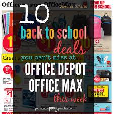 Office Depot Logo Design Best Office Depot Back To School Sales Ad Starting 4848 Top 48 Deals