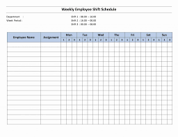 Employee Schedule Spreadsheet Invoice Template Weekly Pdf Numbers
