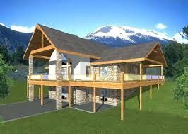 small lake house plans with walkout basement delightful fresh basements on