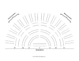 Lds Genealogy Fan Chart Free Fan Charts