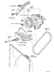 Air pump toyota hilux rn3 4 ln3 4 europe