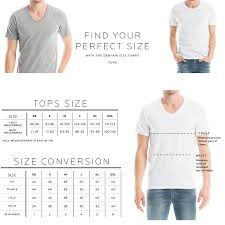 Jordan Fashions Size Chart Size Chart Mens Tops Fit Guide Denham The Jeanmaker In