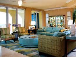 Tropical Living Room Decorating Florida Home Decorating Ideas Colorful Beach House Decor Tropical