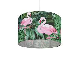 Ceiling Lamp Green Flamingo Belianiat