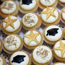 Glam Graduation Cupcakes Free Delivery To Uae Send Online Now