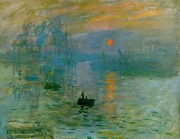edouard manet claude monet vincent van gogh and their three impression sunrise