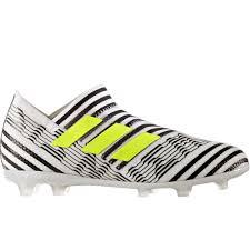adidas cleats. adidas nemeziz 17+ 360agility youth fg soccer cleats (white/solar yellow/core black) 0