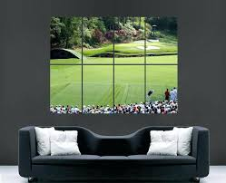 chic design golf wall decor shocking ideas art together with canvas bearister me metal fresh inspiration
