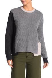 360 Cashmere Size Chart 360 Cashmere Akima Colorblock Cashmere Sweater Hautelook