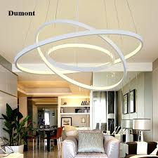 creative bedroom lighting. aliexpresscom buy led simple living room chandelier personality modern creative bedroom lamp aluminum acrylic circle ring restaurant lighting atmo from m