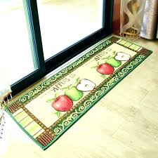 green kitchen rugs lime rug apple washable