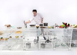 Infinity Kitchen Designs Mvrdv Designs Transparent Kitchen To Make Food Sexier