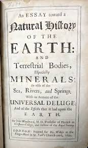 ignorance is preferable to error seashells and america s early  john woodward s influential work an essay toward a natural history of the earth london richard wilkin 1695