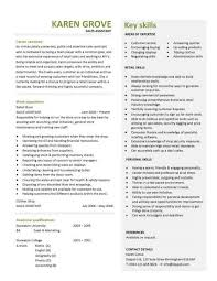 Cv Ideas Examples Retail Cv Template Sales Environment Sales Assistant Cv Shop Work