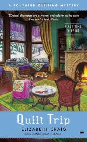 Full Southern Quilting Mystery Book Series by Elizabeth Spann Craig & Quilt Trip - Book #3 of the Southern Quilting Mystery book series Adamdwight.com