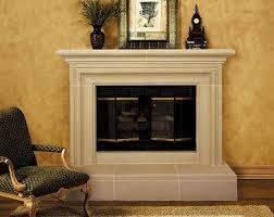 capri cast stone fireplace mantel